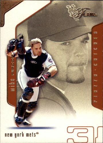 Photo of 2002 Flair #31 Mike Piazza