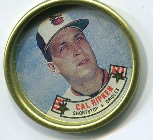 Photo of 1988 Topps Coins #24 Cal Ripken