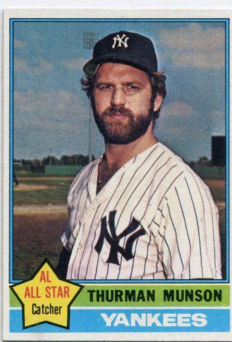 Photo of 1976 Topps #650 Thurman Munson
