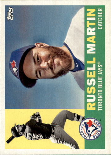 Photo of 2017 Topps Archives #19 Russell Martin