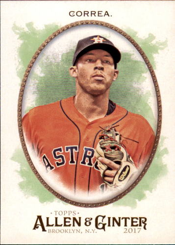 Photo of 2017 Topps Allen and Ginter #48 Carlos Correa