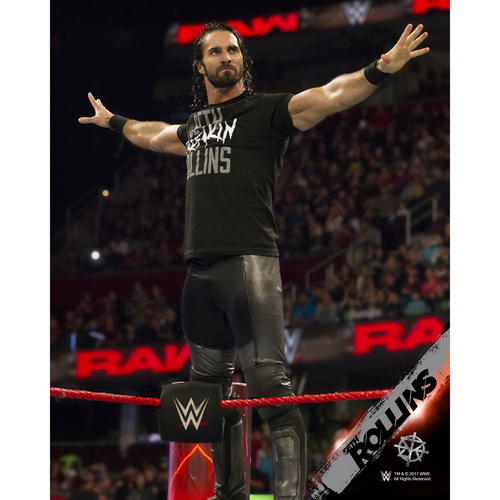 Photo of Seth Rollins PERSONALIZED 8x10 Photograph