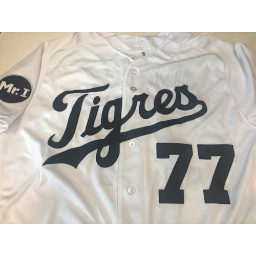 Photo of Game-Used Fiesta Tigres Jersey: Joe Jimenez