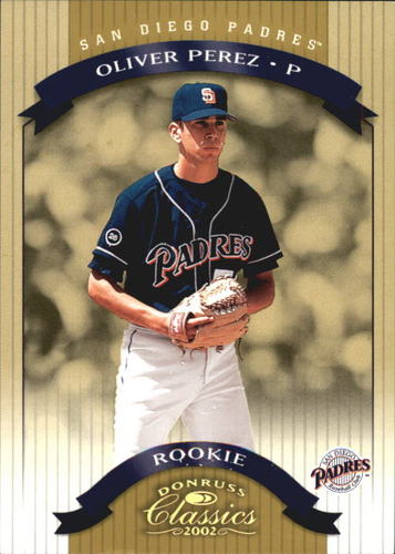 Photo of 2002 Donruss Classics #201 Oliver Perez Rookie Card -- Nationals post-season