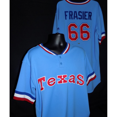 Photo of Josh Frasier Game-Used 1977 Throwback Jersey