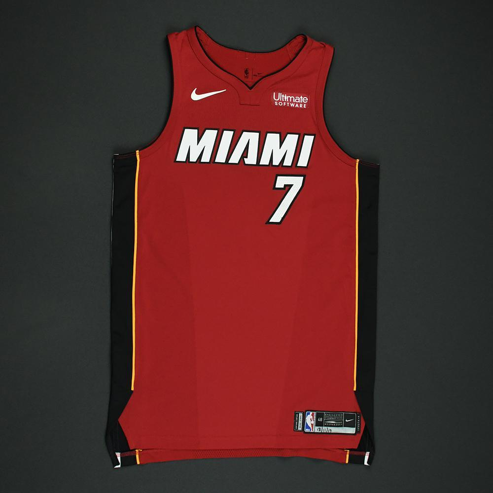 Goran Dragic - Miami Heat - Game-Worn 'Statement' Jersey - 2017-18 Season