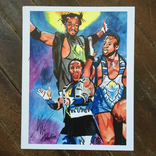 "Photo of The New Day SIGNED 11"" x 14"" Rob Schamberger Print"