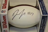 NFL - PANTHERS DEVIN FUNCHESS SIGNED PANEL BALL