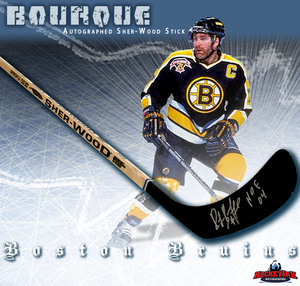 RAY BOURQUE Signed Sher-wood Player Model Stick - Boston Bruins