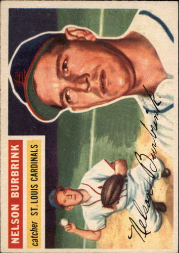 Photo of 1956 Topps #27 Nelson Burbrink DP RC