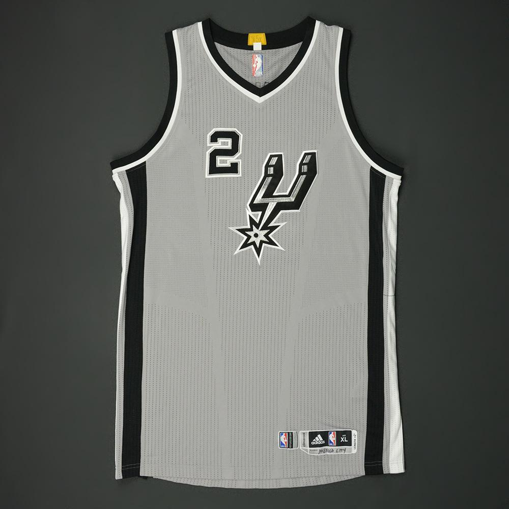 Kawhi Leonard - San Antonio Spurs - NBA Global Games 2017 Mexico City - Game-Worn Jersey