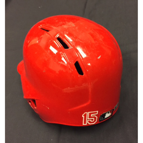 Photo of Team-Issued Helmet - Jordan Pacheco - Used During 2016 Season