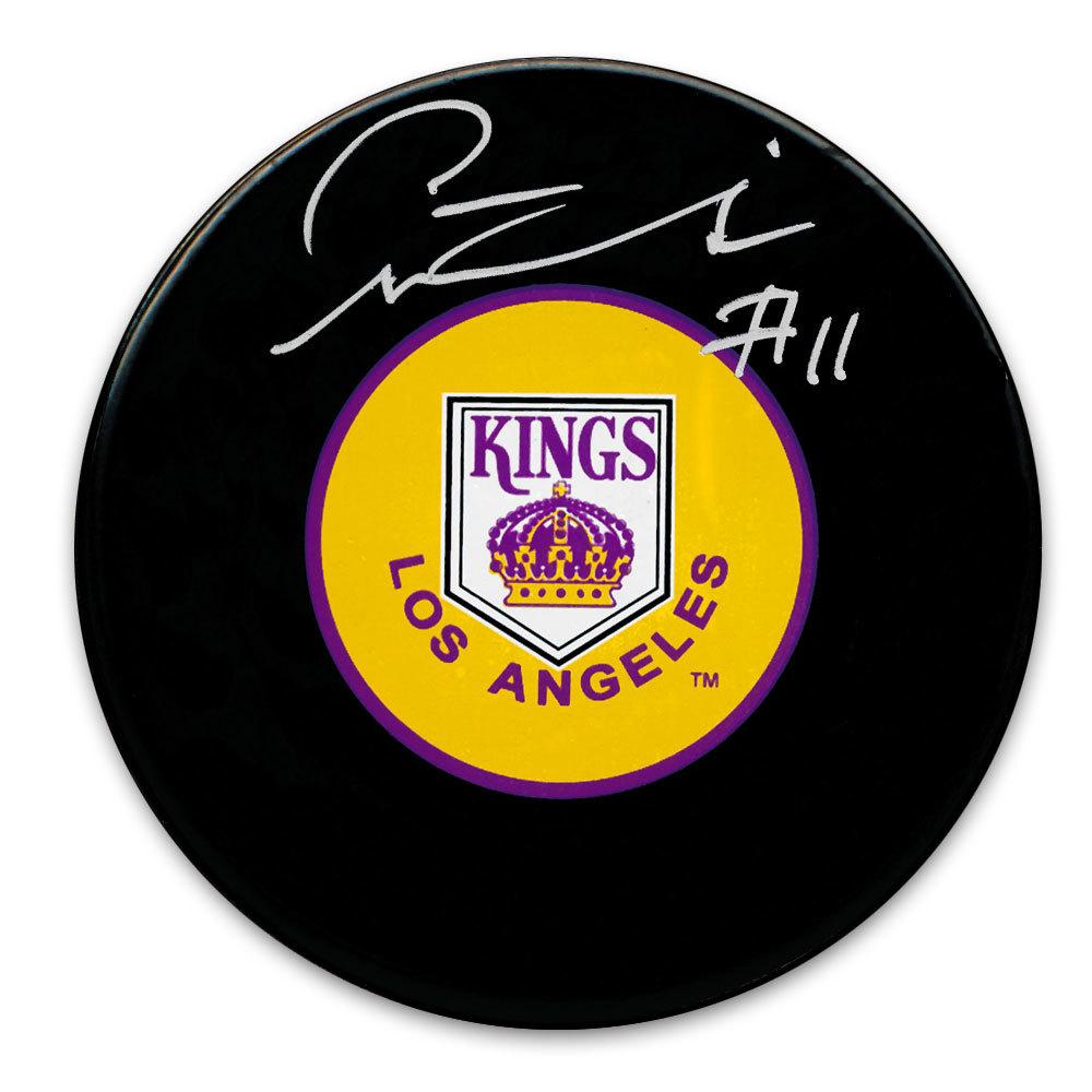 Pete Stemkowski Los Angeles Kings Autographed Puck