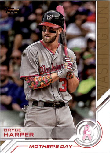 Photo of 2017 Topps Salute #S1 Bryce Harper