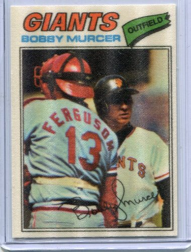 Photo of 1977 Topps Cloth Stickers #33 Bobby Murcer