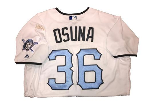 Photo of Jose Osuna Game-Used Father's Day Weekend Jersey - Worn on 6/17 & 6/18