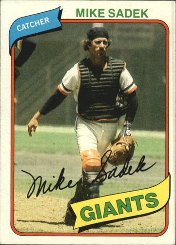 Photo of 1980 Topps #462 Mike Sadek DP