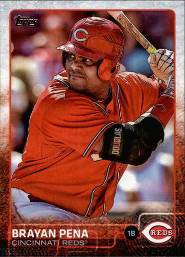 Photo of 2015 Topps #520 Brayan Pena