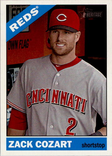 Photo of 2015 Topps Heritage #370 Zack Cozart