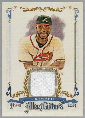 Photo of 2013 Topps Allen and Ginter Relics #JH Jason Heyward