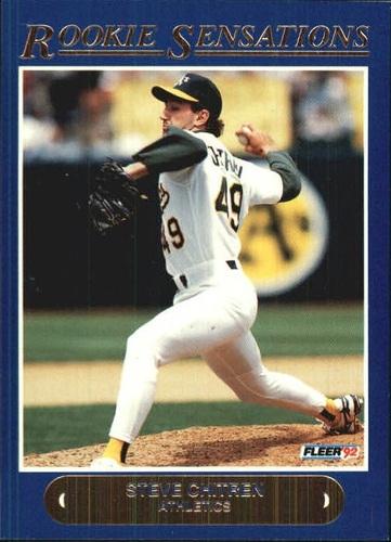 Photo of 1992 Fleer Rookie Sensations #14 Steve Chitren