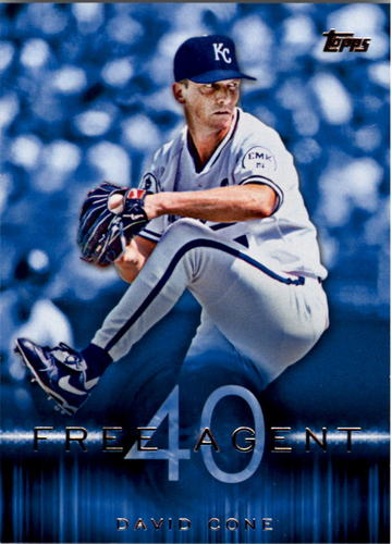 Photo of 2015 Topps Free Agent 40 #F4013 David Cone