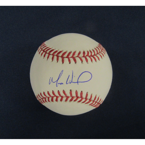 Braves Charity Auction - Matt Wisler Autographed Baseball