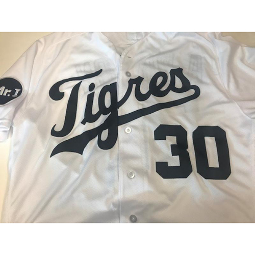 Photo of Game-Used Fiesta Tigres Jersey: Alex Wilson