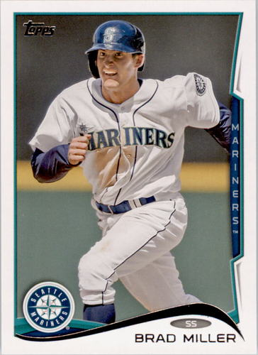 Photo of 2014 Topps #342 Brad Miller