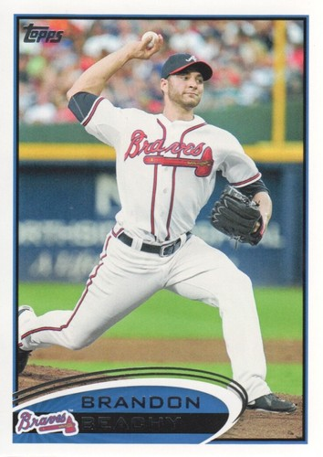 Photo of 2012 Topps #364 Brandon Beachy