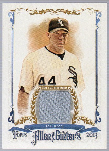 Photo of 2013 Topps Allen and Ginter Relics #JP Jake Peavy