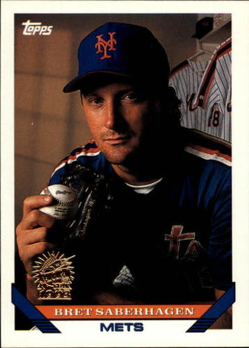 Photo of 1993 Topps Inaugural Marlins #600 Bret Saberhagen