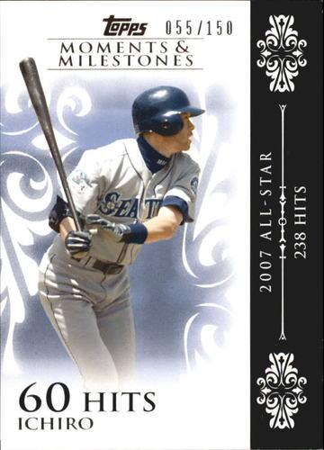 Photo of 2008 Topps Moments and Milestones #63-60 Ichiro Suzuki