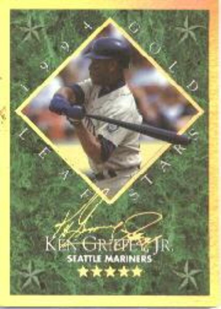 1994 Leaf Gold Stars #4 Ken Griffey Jr.
