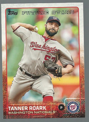 Photo of 2015 Topps #30 Tanner Roark FS