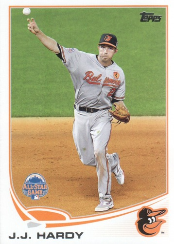 Photo of 2013 Topps Update #US125 J.J. Hardy