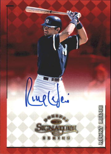 Photo of 1998 Donruss Signature Autographs #52 Ricky Ledee/2200*