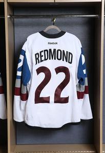 Zach Redmond Colorado Avalanche Game Issued Stadium Series Jersey