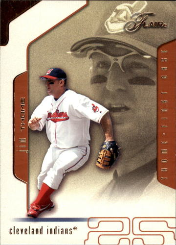 Photo of 2002 Flair #33 Jim Thome