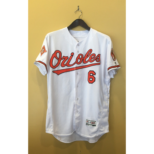 Photo of Jonathan Schoop - 2017 Opening Day Jersey: Game-Used