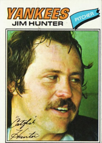 Photo of 1977 Topps #280 Jim Hunter