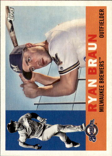 Photo of 2017 Topps Archives #6 Ryan Braun