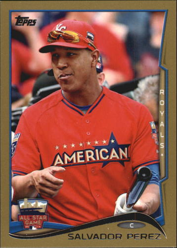 Photo of 2014 Topps Update Gold #US97 Salvador Perez