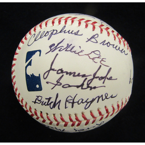 Photo of Braves Charity Auction - 2013 Negro League