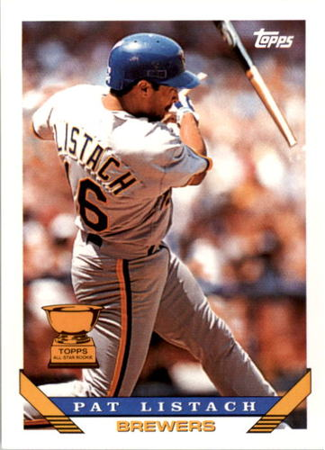 Photo of 1993 Topps #480 Pat Listach