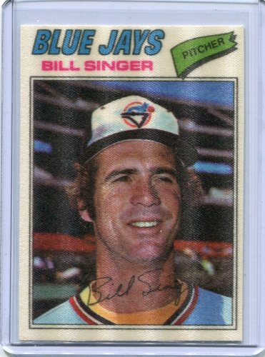 Photo of 1977 Topps Cloth Stickers #44 Bill Singer