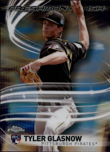 Photo of 2017 Topps Chrome Freshman Flash #FF12 Tyler Glasnow