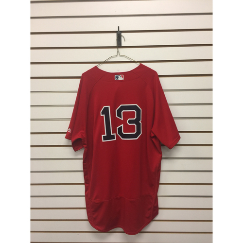 Photo of Hanley Ramirez Game-Used September 16, 2016 Home Alternate Jersey