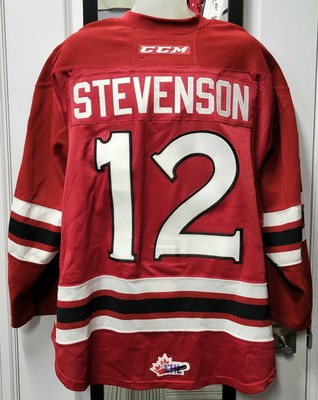 Keegan Stevenson #12 17/18 Game Worn Jersey