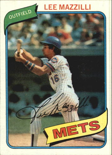 Photo of 1980 Topps #25 Lee Mazzilli